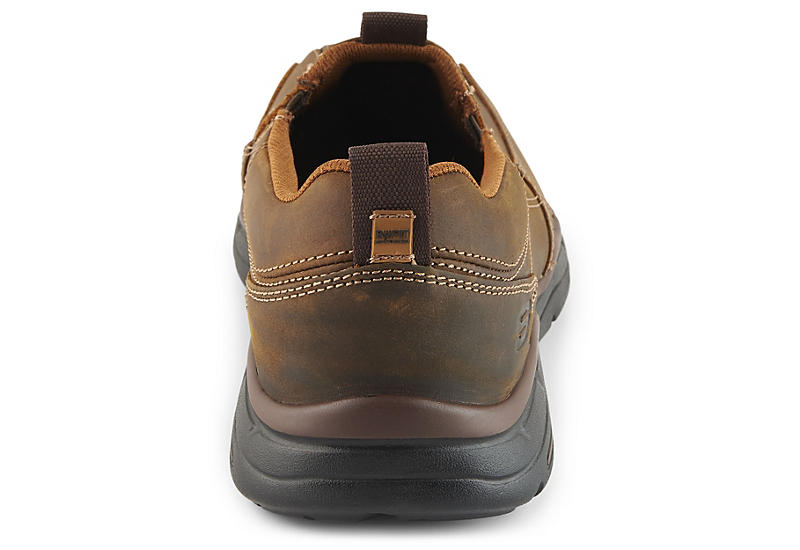 SKECHERS Mens Dockland - BROWN