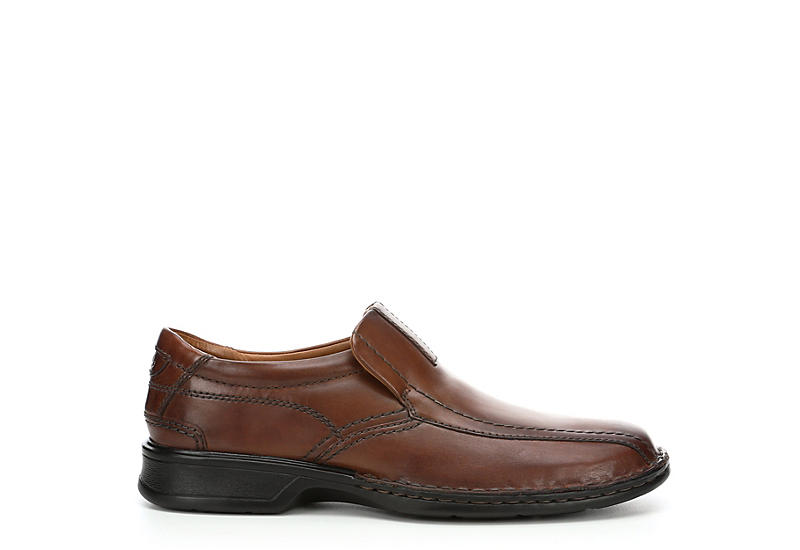 CLARKS Mens Escalade Step - BROWN