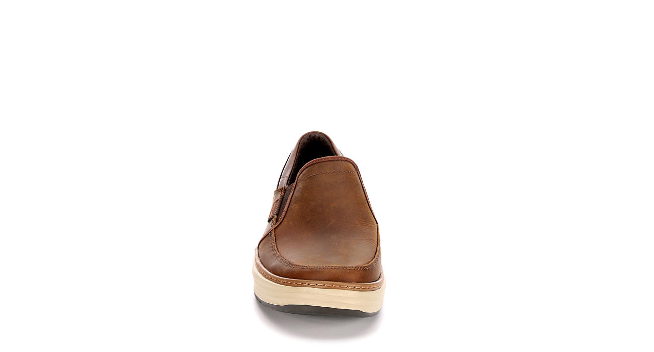 SKECHERS Mens Moreno Relton - BROWN