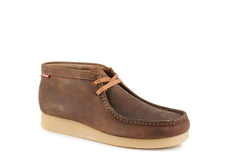BROWN CLARKS Mens Stinson Hi