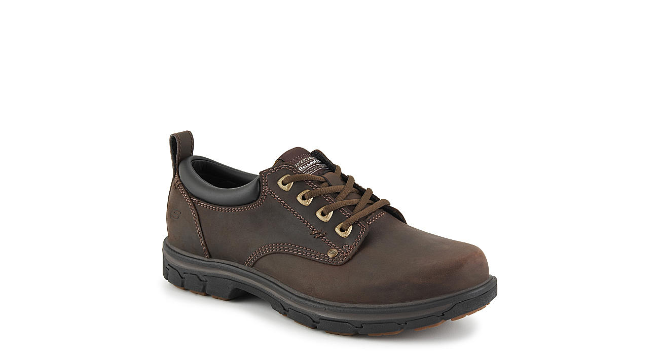 SKECHERS Mens Rilar - BROWN