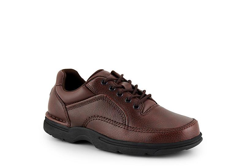 ROCKPORT Men's Eureka Oxford Shoes, Medium Width, Brown
