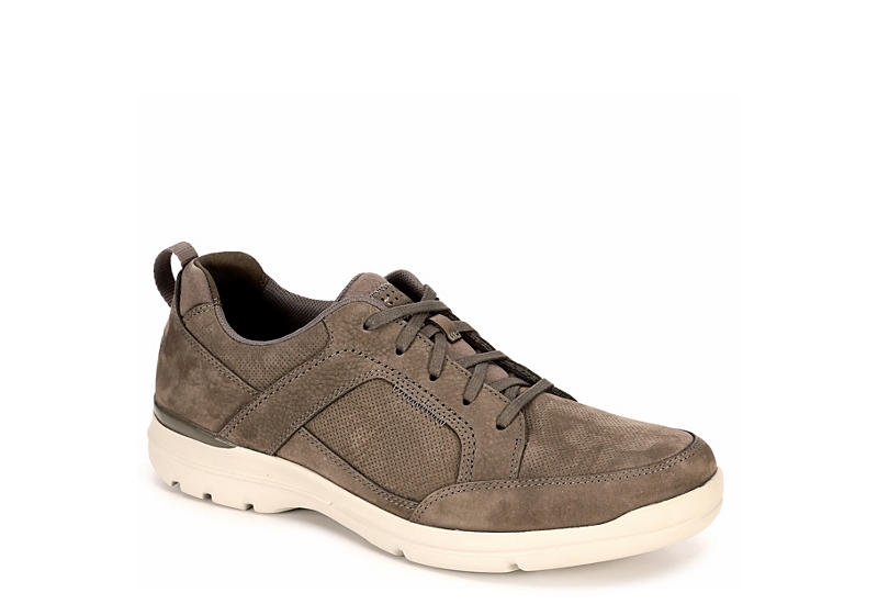 ROCKPORT Mens City Edge Lace Up - GREY