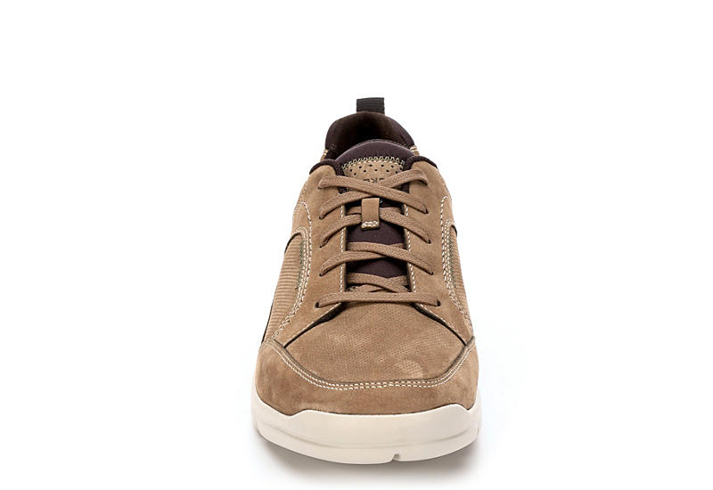 ROCKPORT Mens City Edge Lace Up - TAUPE