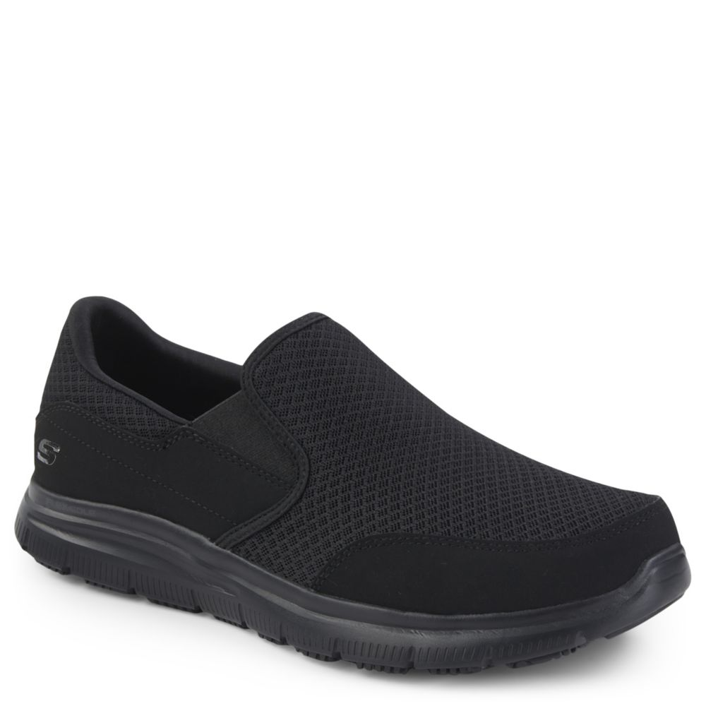 skechers mens slip on shoes