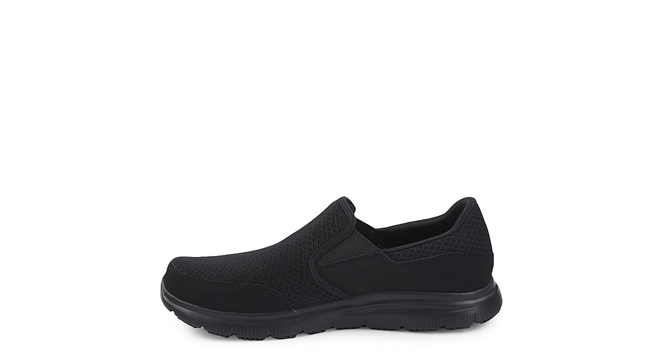 SKECHERS Mens Mcallen - BLACK
