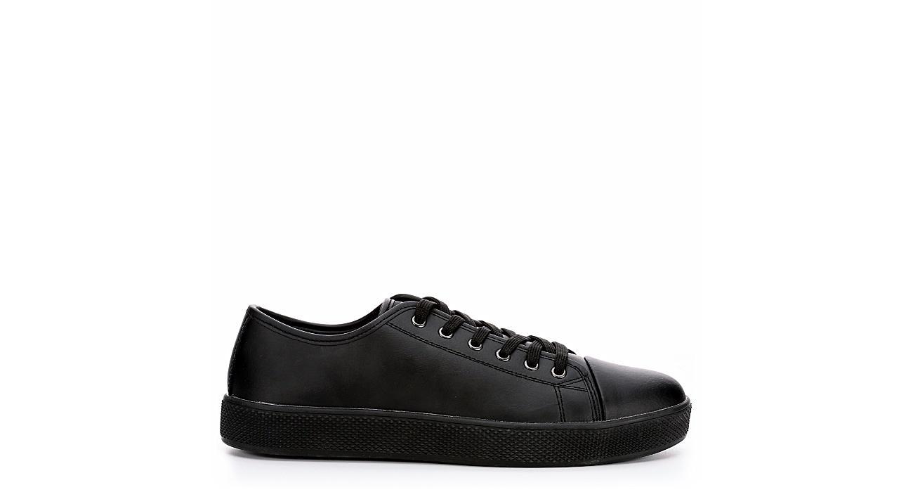 WORK MASTER Mens Classic Sneaker - BLACK