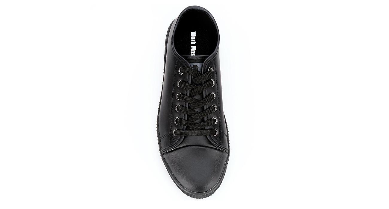 WORK MASTER Womens Classic Sneaker - BLACK