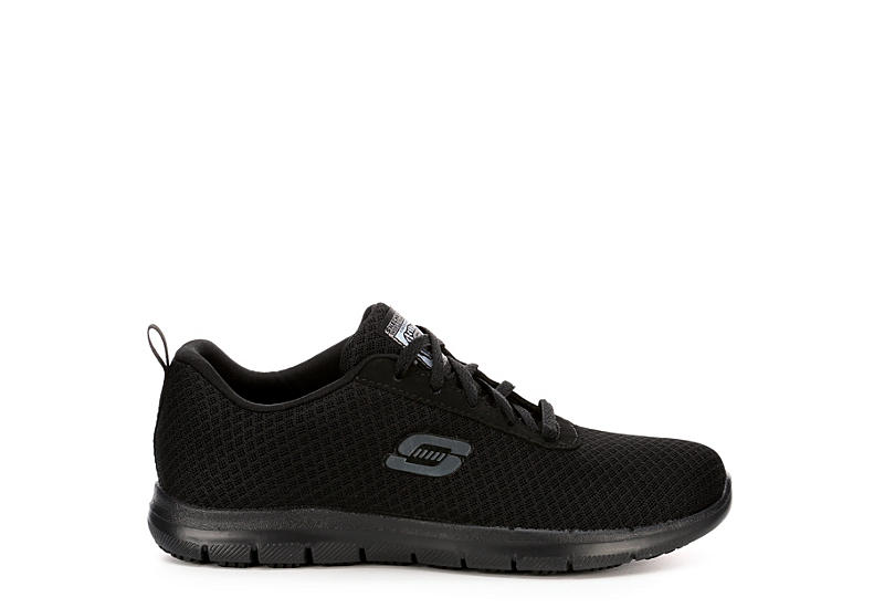SKECHERS Womens Bronaugh - BLACK