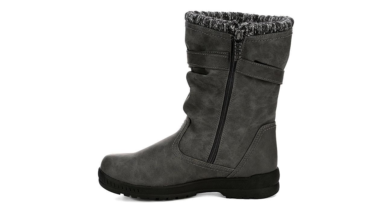 TOTES Womens Kappa Boot - GREY