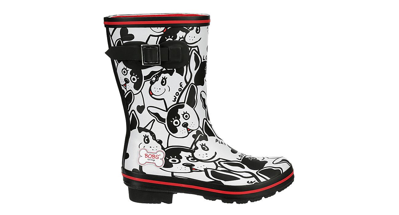 SKECHERS BOBS Womens Boston Proper Rain Boot - BLACK