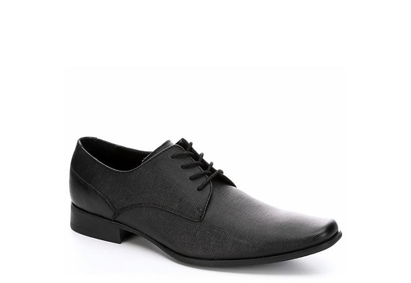 Black Calvin Klein Mens Brodie Calvin Klein Mens Black Dress Shoes