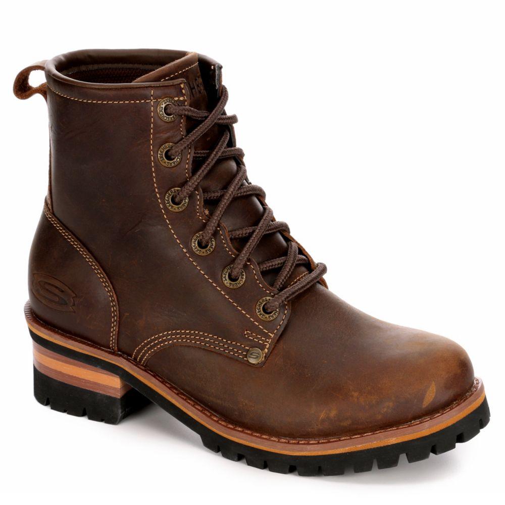skechers womens brown boots