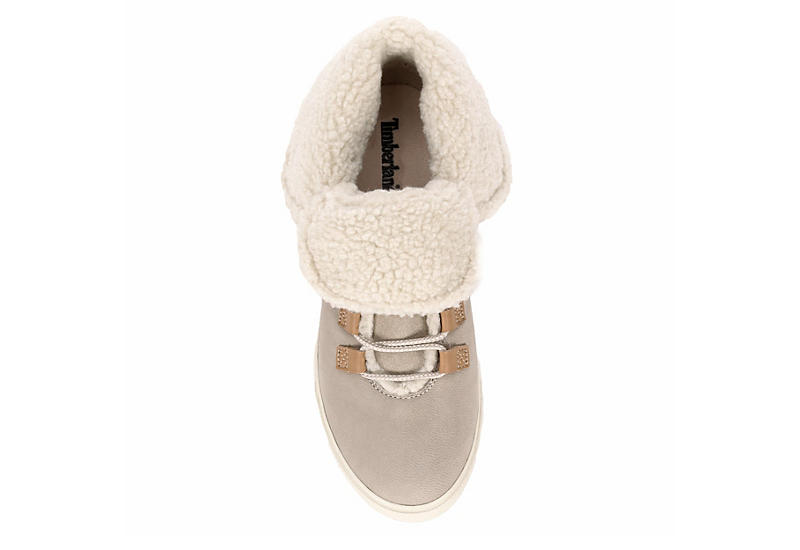 TIMBERLAND Womens Dausette Fleece Fold-down - TAUPE