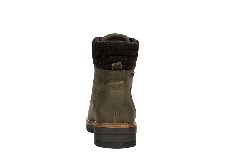 BENCH Womens Jayme Combat Boot - OLIVE