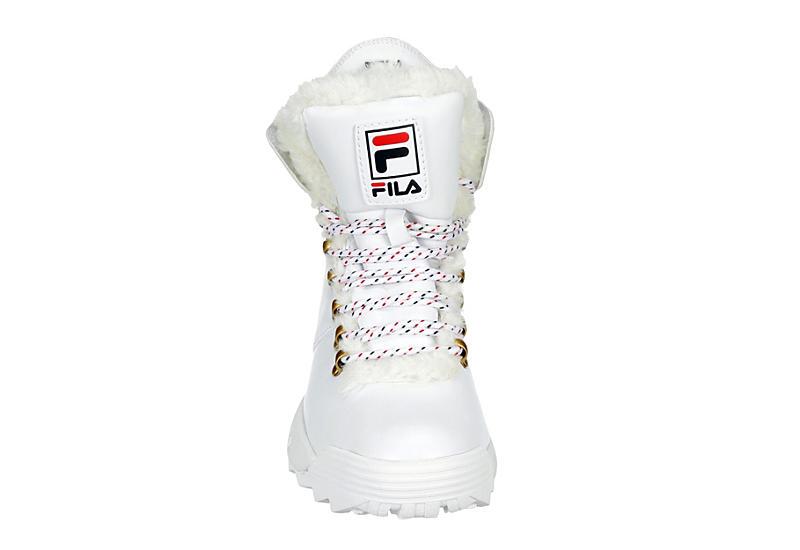 FILA Womens Disruptor Fold Down - WHITE