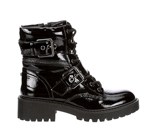 Womens Slayder Combat Boot