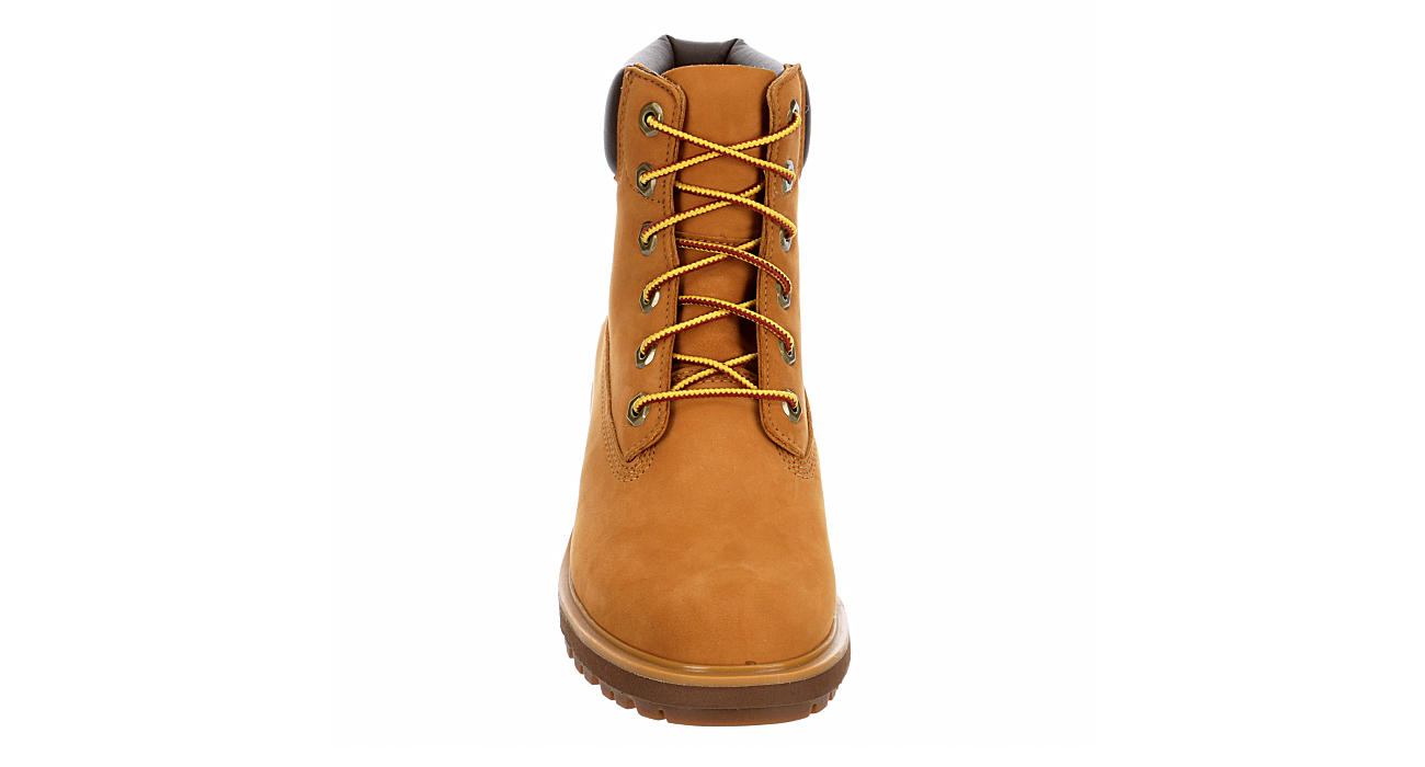 TIMBERLAND Womens Kinsley Lace-up Boot - TAN