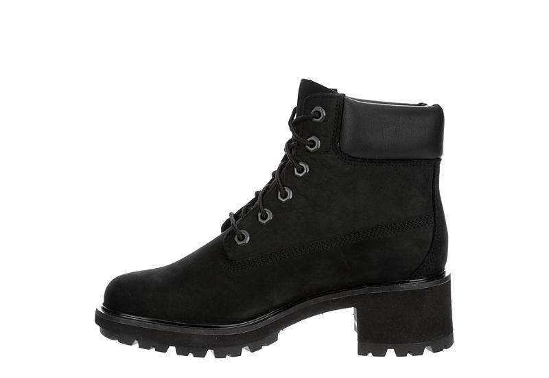 TIMBERLAND Womens Kinsley Lace-up Boot - BLACK