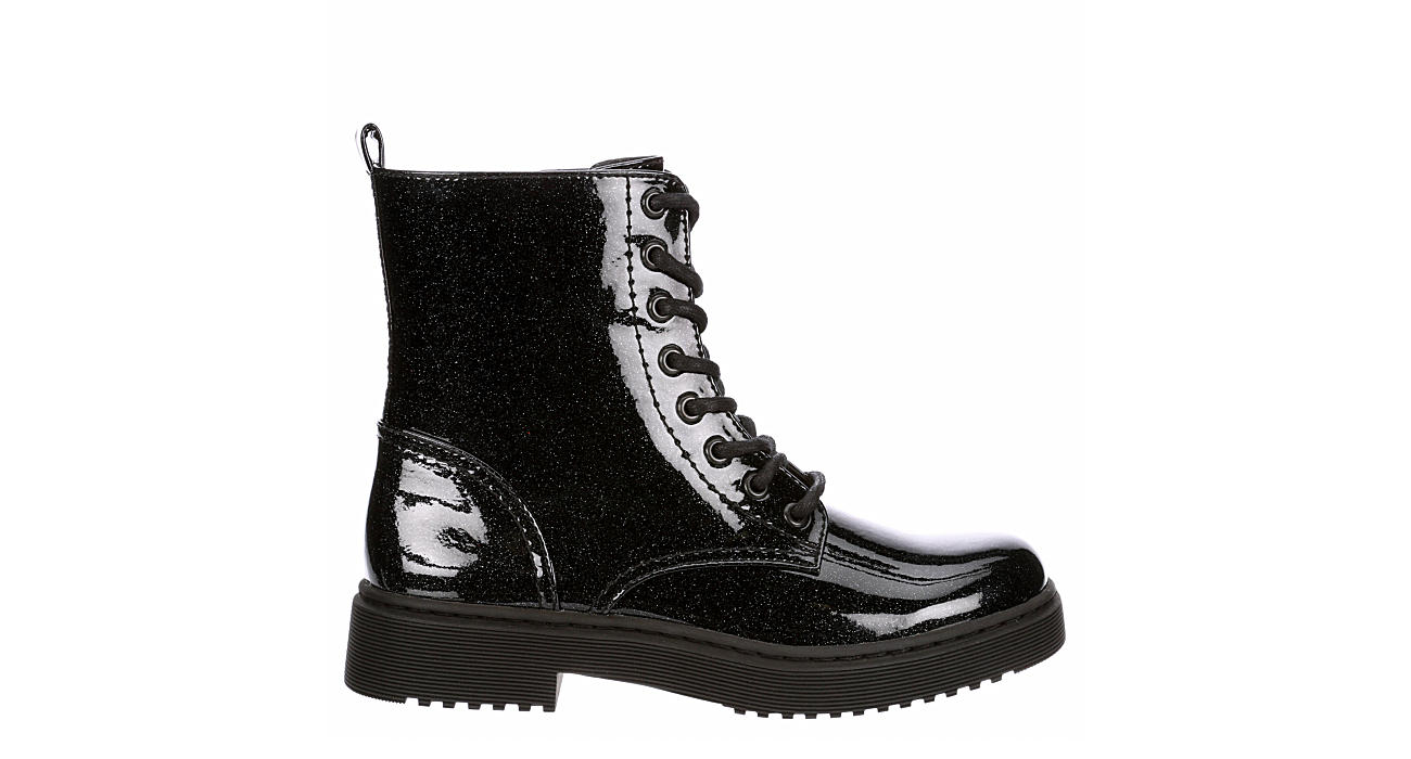 XAPPEAL Womens Amara Combat Boot - BLACK
