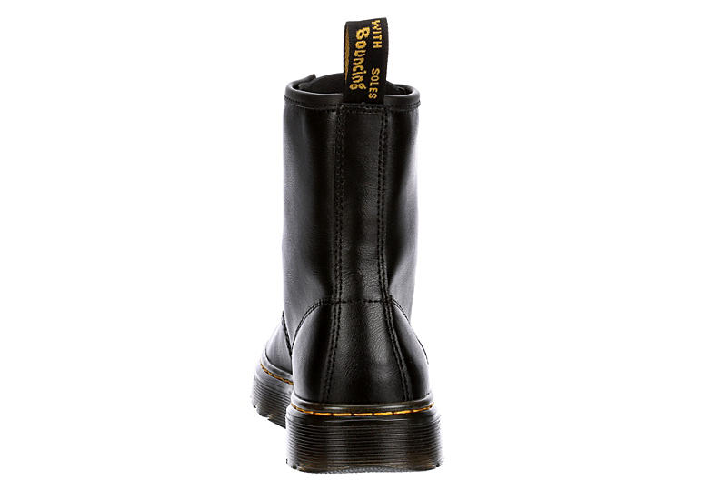 DR.MARTENS Womens Zavala Combat Boot - BLACK