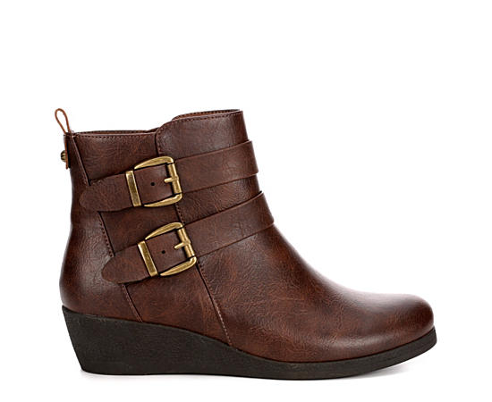 Womens Peggie Wedge Boot