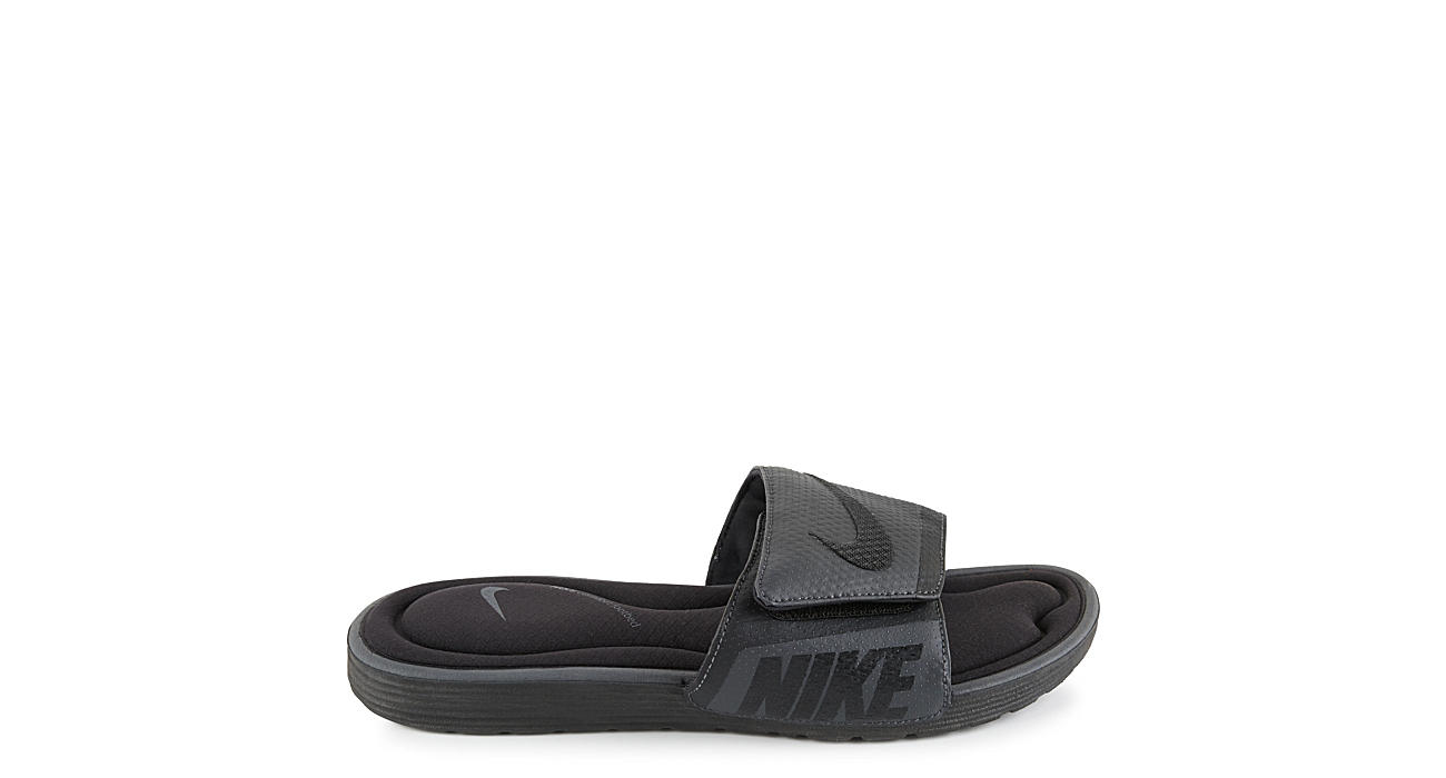 2a2425b4ba9 Nike Mens Solarsoft Comfort Slide - Black