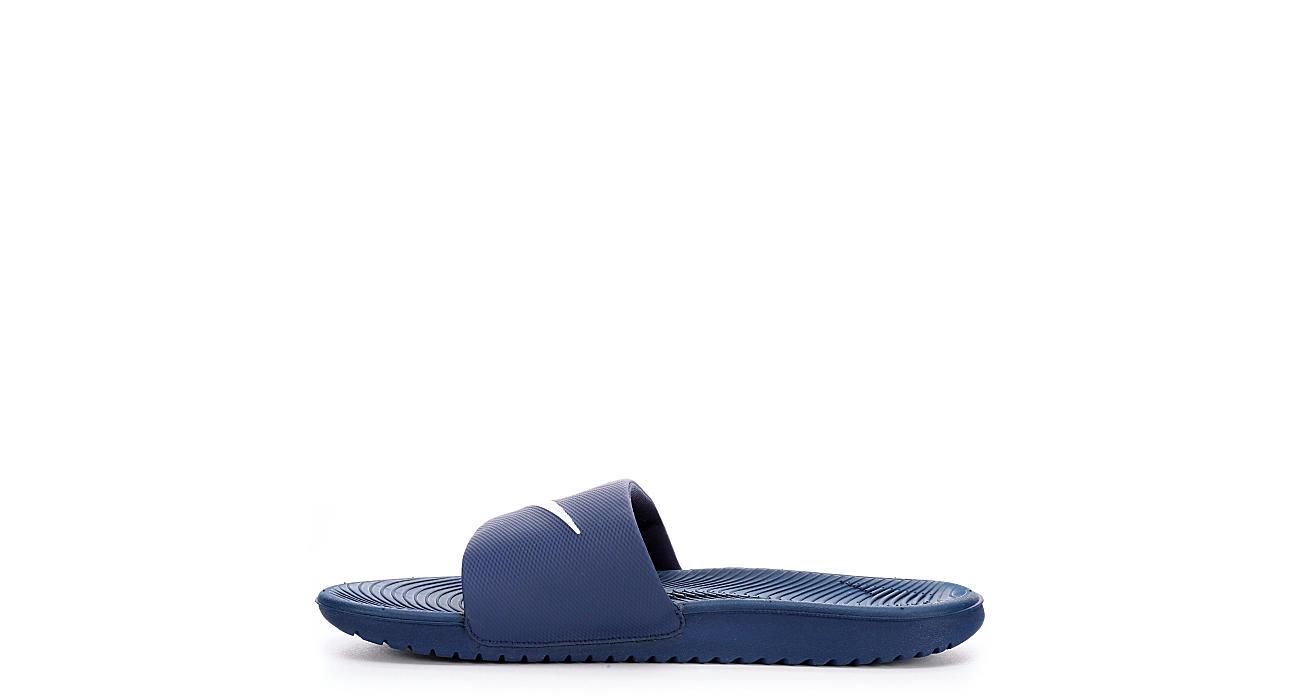 e54fdc4630262 Nike Mens Kawa Slide - Navy