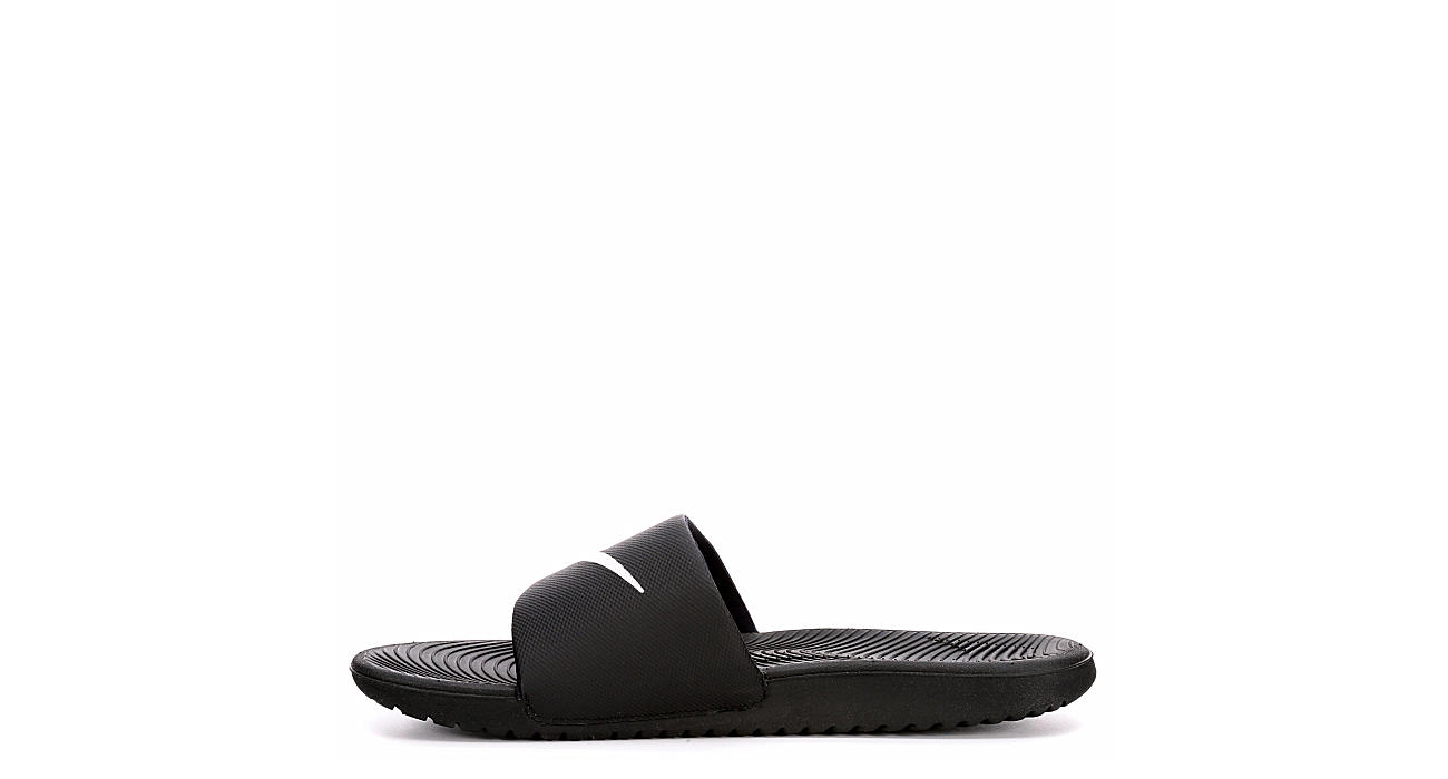 NIKE Mens Kawa Slide - BLACK
