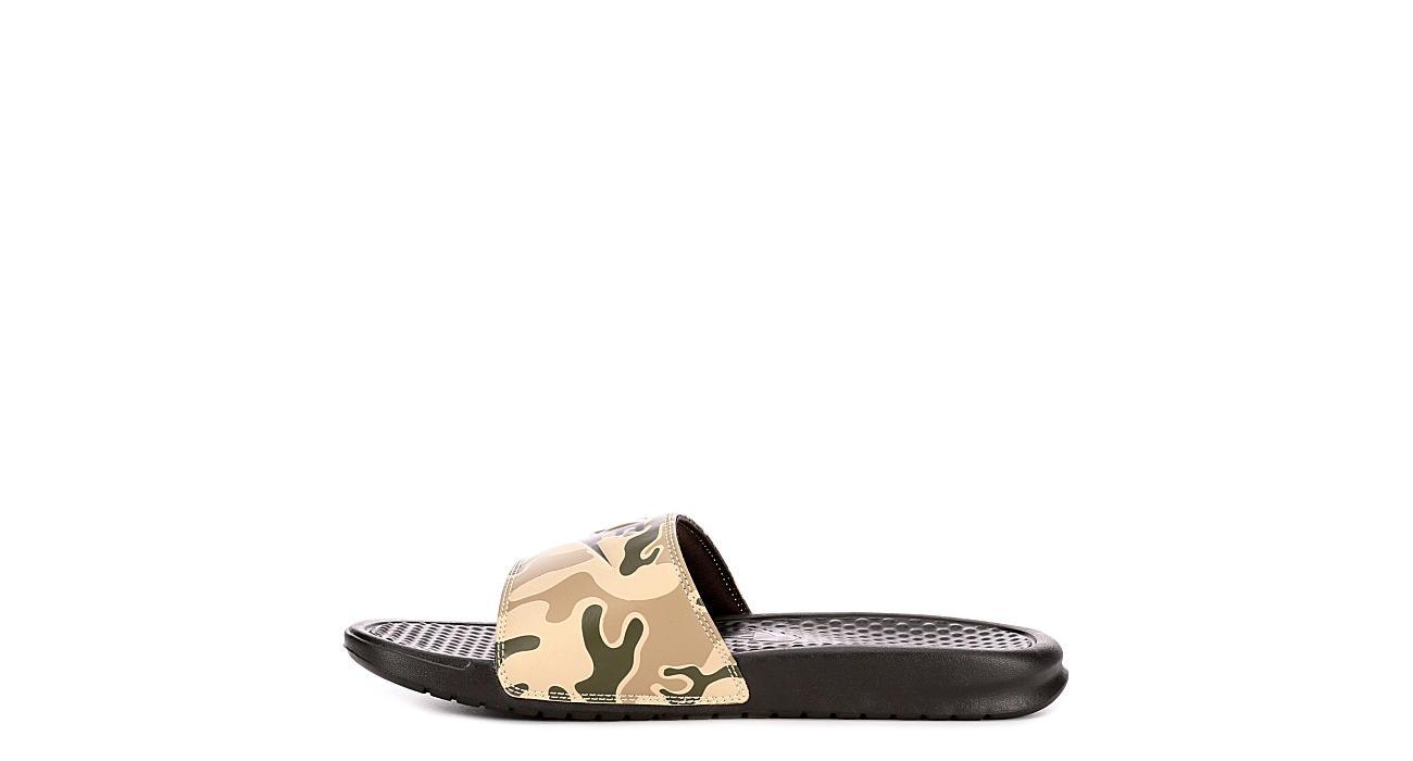 72c2890af746 Camo Nike Just Do It Benassi Men s Slides