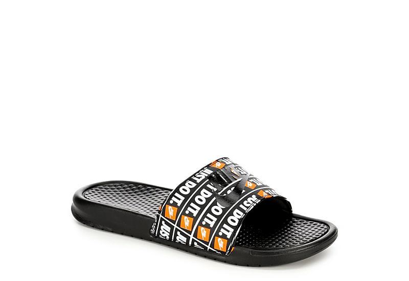 a4710679f772 Black Nike Just Do It Benassi Men s Slides