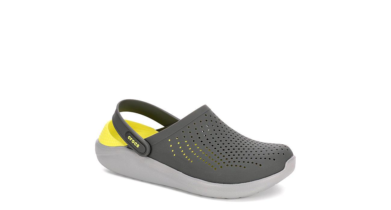 ed5bd3c31db Crocs Mens Literide Clog - Grey