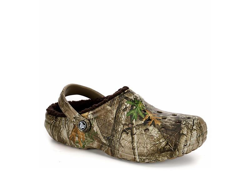 ebf787af565 Camo Crocs Mens Classic Lined Clog | Sandals | Rack Room Shoes