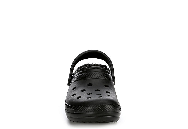 CROCS Mens Classic Lined Clog - BLACK