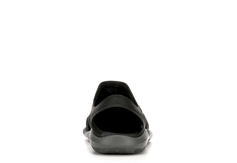 CROCS Mens Swiftwater Wave Sandal - BLACK
