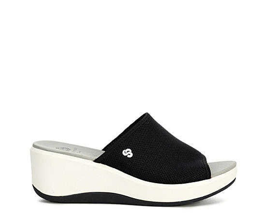 Womens Step Cali Bay Wedge Sandal