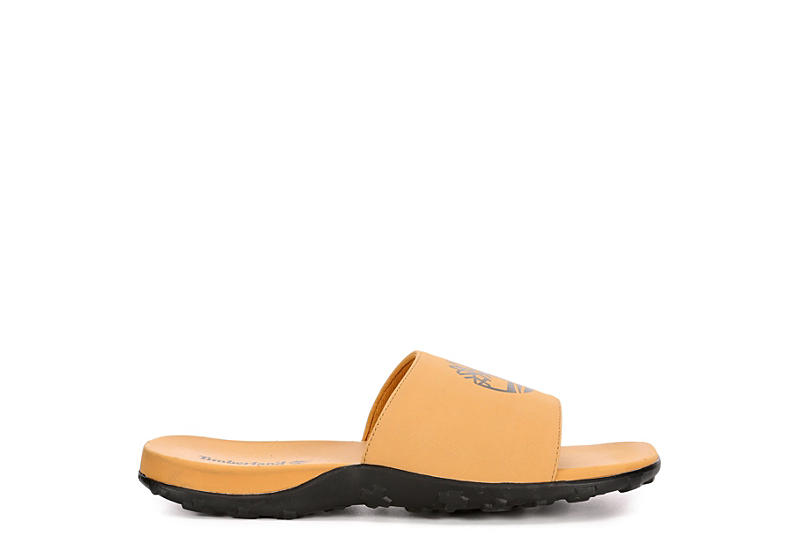 TIMBERLAND Mens Fells Slide - TAN