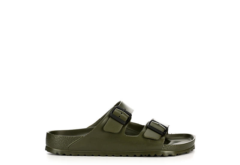 BIRKENSTOCK Mens Arizona Essentials - OLIVE