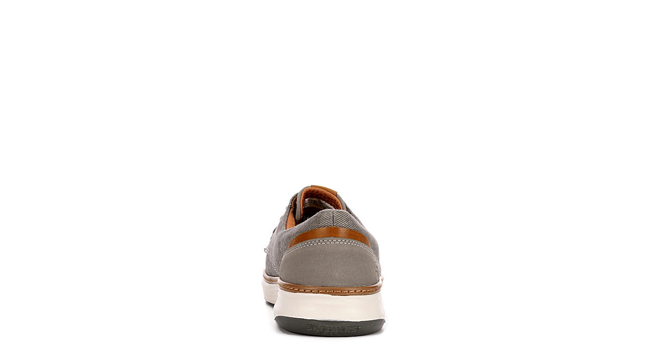 SKECHERS Mens Moreno Sneaker - TAUPE