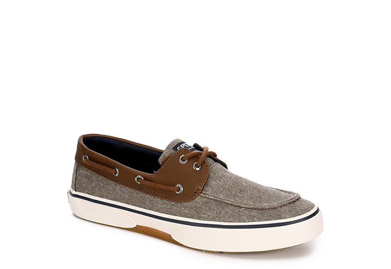 SPERRY Mens Halyard - BROWN