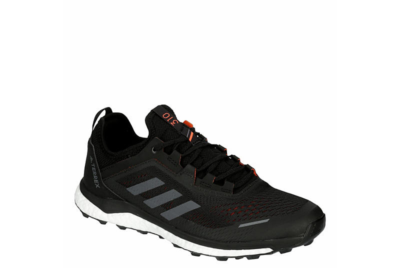 BLACK ADIDAS OUTDOOR Mens Agravic Flow