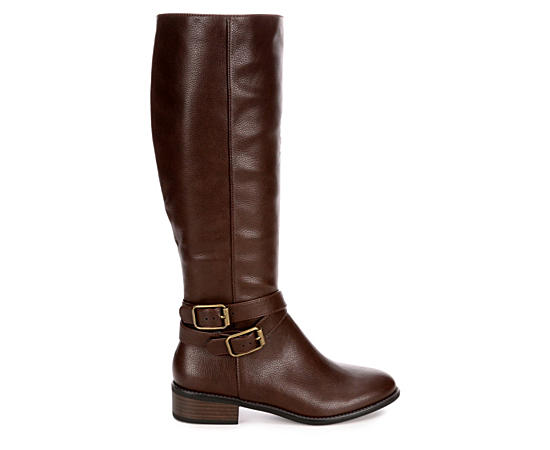 Womens Hillary Wide Calf Riding Boot
