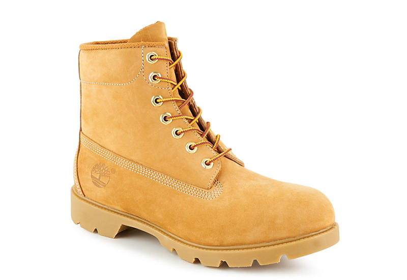 TAN TIMBERLAND Mens 6 In Basic