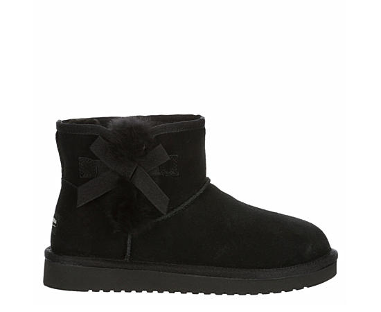 Womens Victoria Mini Fur Boot