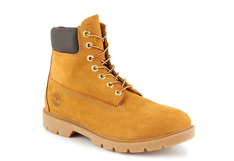 TIMBERLAND Mens Icon 6 Basic Boot - TAN