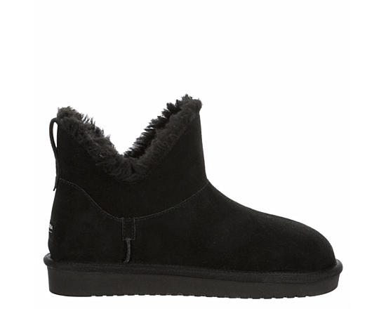 Womens Euna Mini Fur Boot