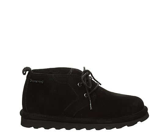 Womens Skye Lace-up Fur Boot