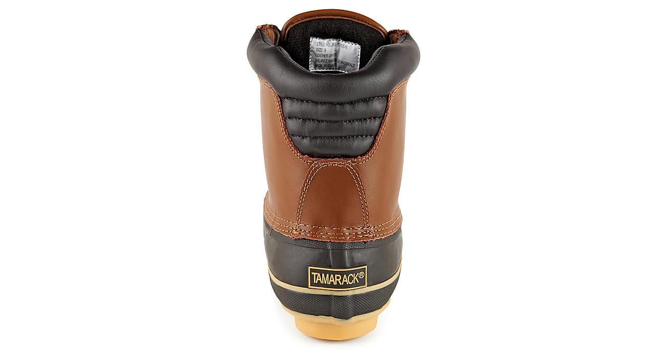 TAMARACK Mens Duck Boot - BROWN