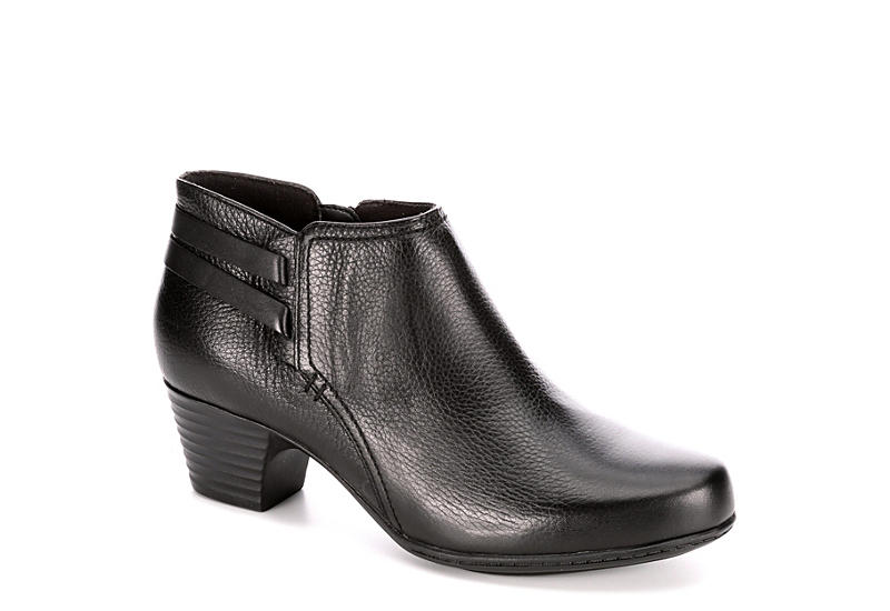 CLARKS Womens Valerie Ashley - BLACK