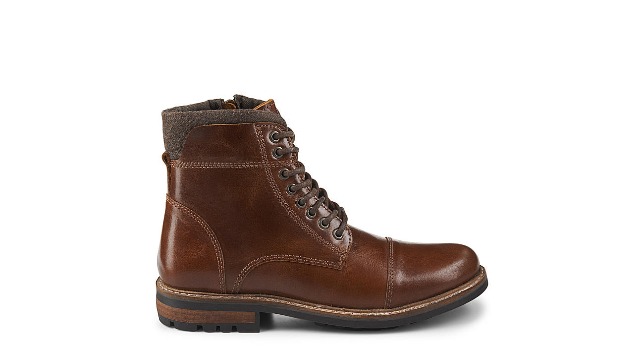 38b2fcefca3b7 Brown Franco Fortini Mens Superior | Boots | Rack Room Shoes